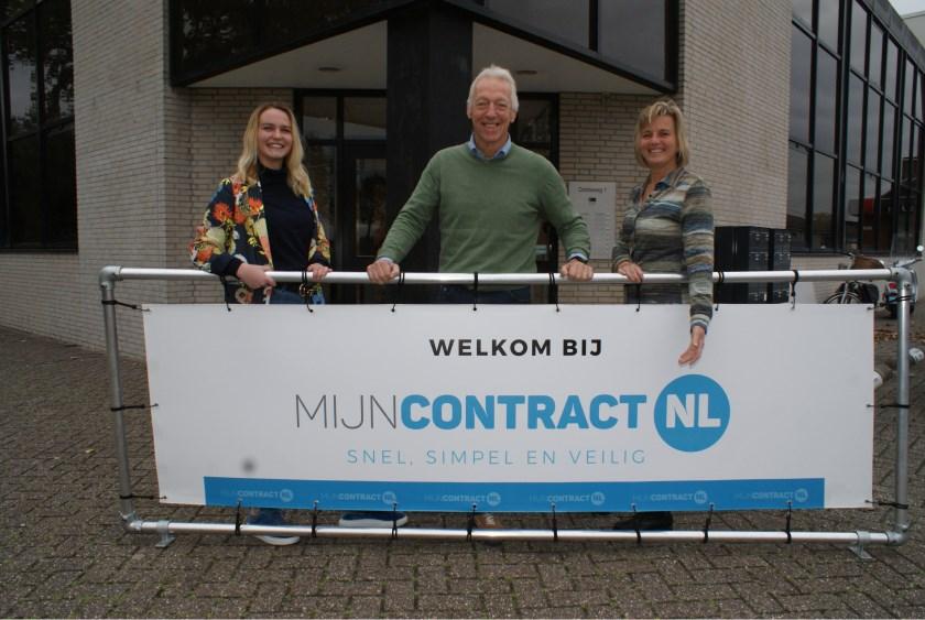 MijnContract.nl is gevestigd aan de Industrieweg in de Dobbewijk in Voorschoten. Foto: Vsk