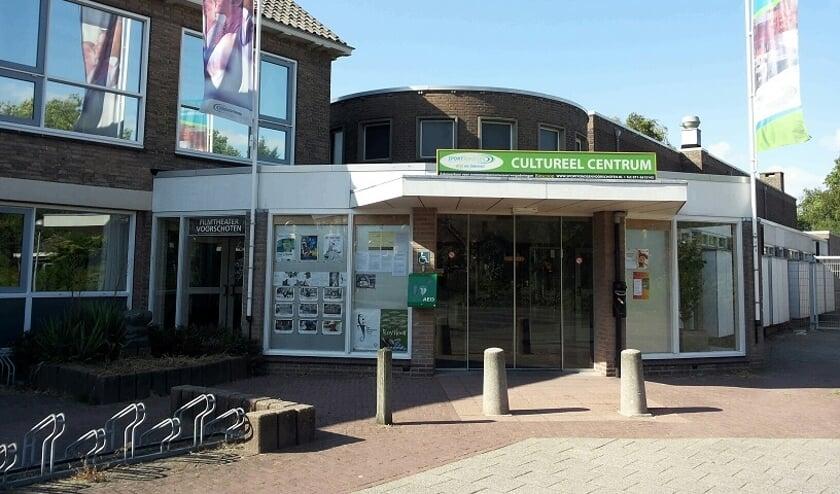 Vanwege de bezuinigingen wordt het Cultureel Centrum, een gemeentelijke accommodatie, verkocht. Foto: Pr