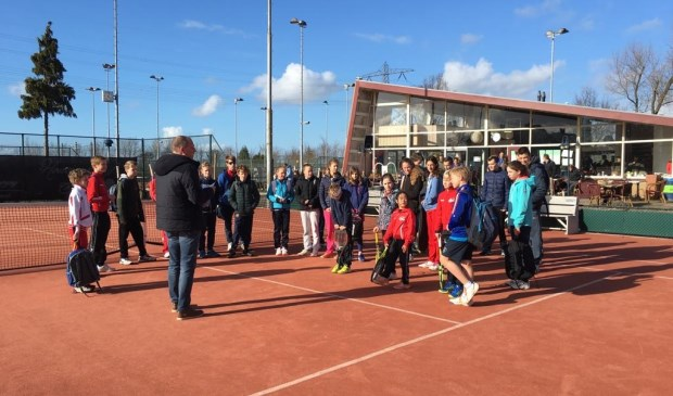 Spring is in the air, jeugdtoernooi bij tennisvereniging Forescate. Foto: pr