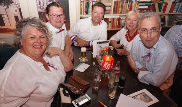 Het team van de Voorschotense Krant haalde de derde plaats!! Foto: VSK  © VSK
