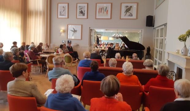 Marc Wielart speelde afgelopen zondag in Adegeest. Foto: De Toonzetter