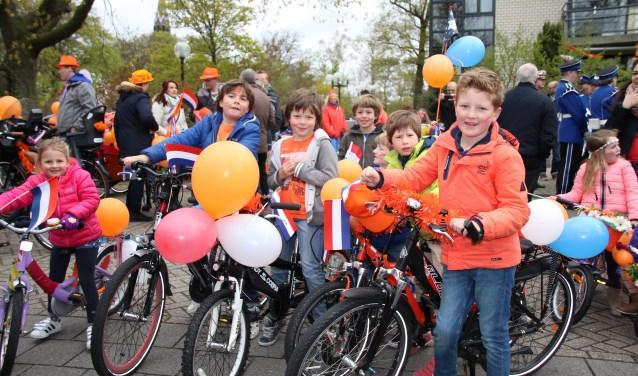 Wie heeft de mooist versierde fiets op Koningsdag?  Foto: Nelleke de Vries