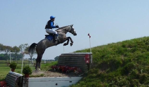 Roel Zonneveld gooide hoge ogen tijdens de North Holland Horse Trials. Hij is op zoek naar sponsors. Foto: pr
