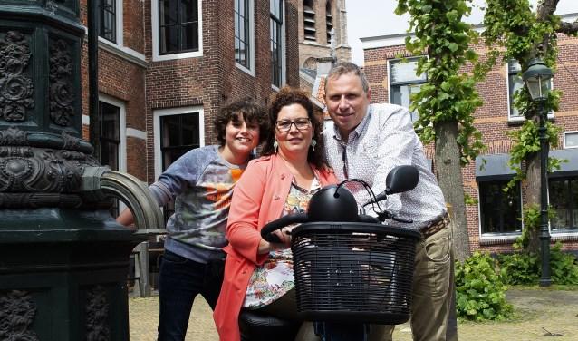 Josefine met echtgenoot Gerard en zoon Jayden. Foto: André Pottovski