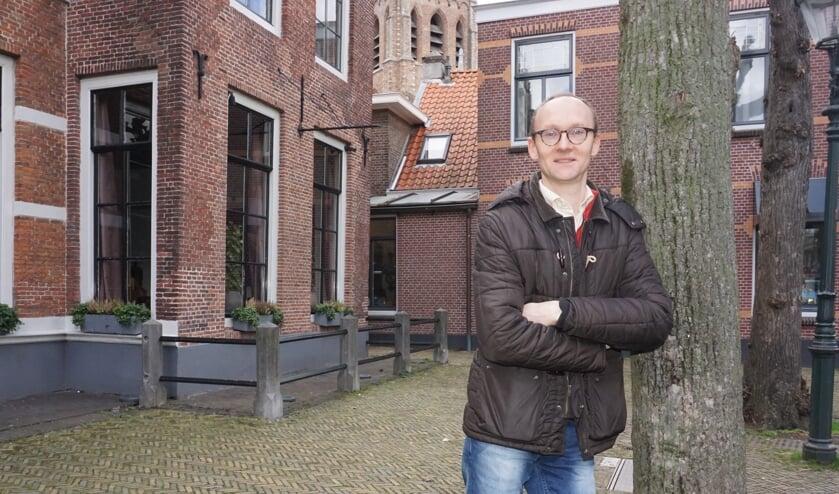 Sjoerd van den Dool is de nieuwe beoogd wethouder als opvolger van Nanning Mol. Foto: VSK
