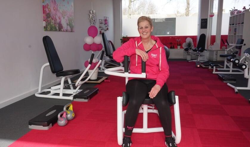 Angelique Ringenier, sinds januari runt zij haar eigen vestiging van Hart for her aan het Johan Vermeerplantsoen 10 in Voorschoten. Foto: Vsk