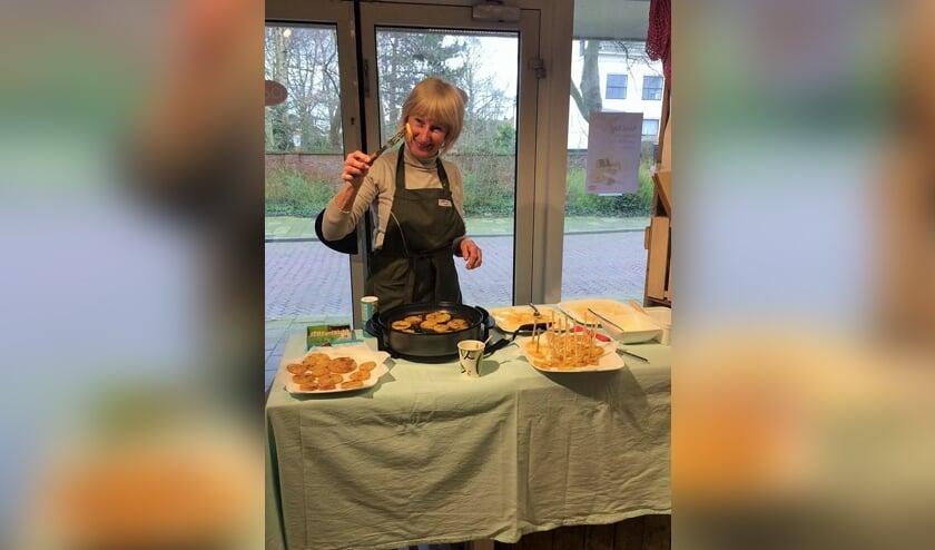 Op zaterdag 20 juli laat Roos je weer proeven van de gerechten die zij maakt met de biologische producten uit de winkel van Odin. Foto: PR