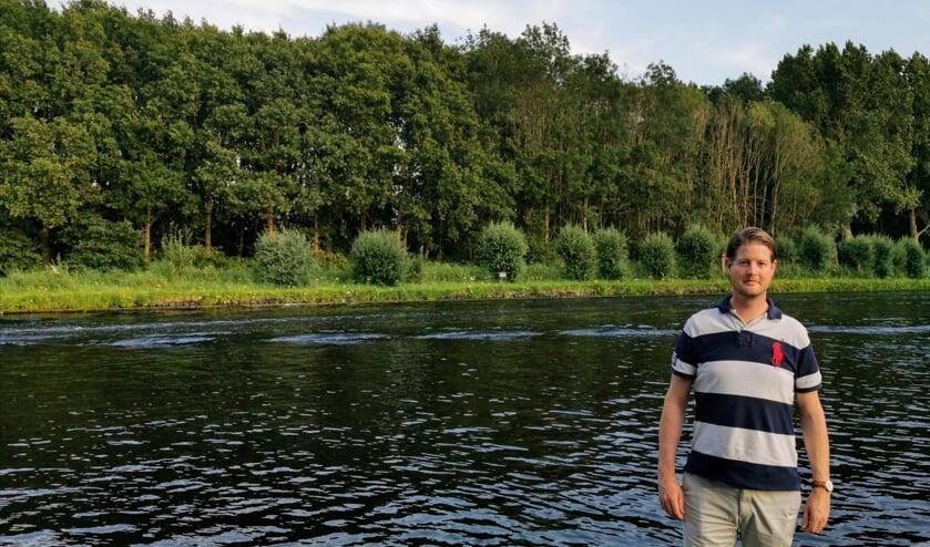 Aankomend raadslid VVD Bram Reinke