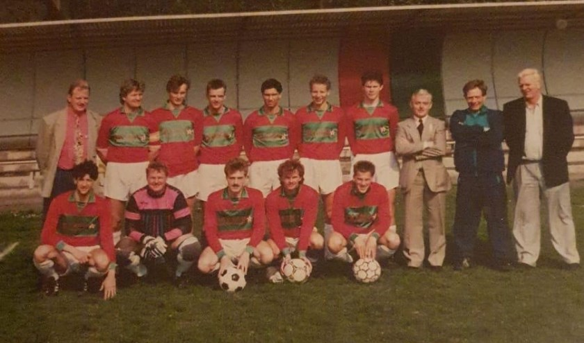 Links boven: Edward van Leeuwen, archieffoto Hans Douw 1980