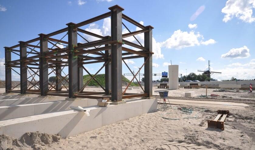 Deze constructie is naast de A4 verschenen. Aannemerscombinatie Comol 5 vertelt waarom. Foto: Comol