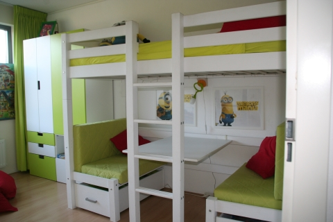 Hoogslaper Met Buro.Hoogslaper Flexa Met Bureau En Of Extra Bed Marktplein