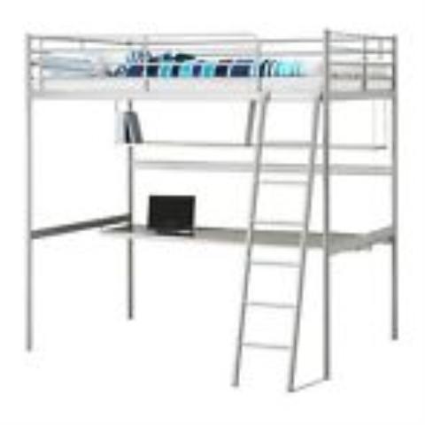 Onwijs Ikea hoogslaper met bureau- marktplein GB-78