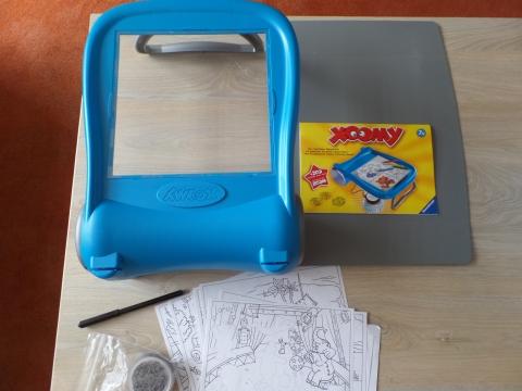 Verrassend Xoomy tekentafel weinig gebruikt!!- marktplein EX-28