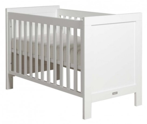 Elegant complete tweeling babykamer bopita bianco for Tweeling ledikant