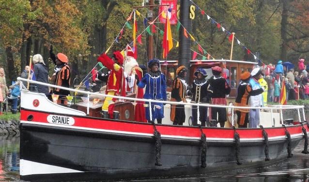 Aankomst van Sinterklaas in Leidschendam-Voorburg (archieffoto).