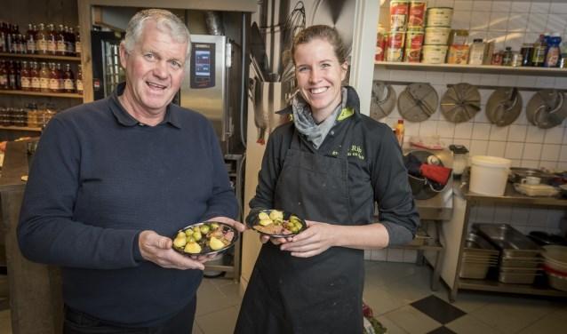 Chantal en Cock van Rijn Van Rijn Culinair aan het woord (foto: Hein Athmer).