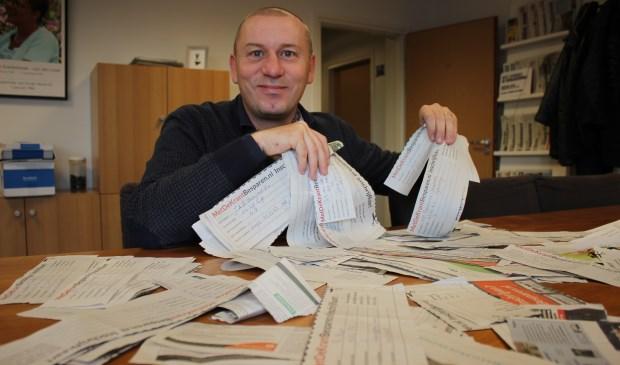 Uitgever Erhard Soeterbroek heeft al veel aanmeldingen binnen.