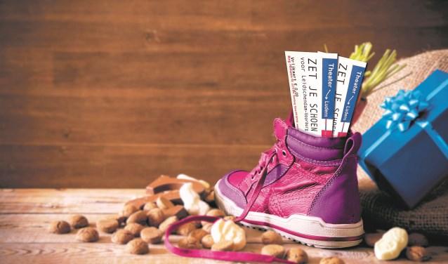 In ruil voor je schoenen krijg je een vrijkaartje voor een jeugdtheatervoorstelling in Theater Ludens (foto: pr).