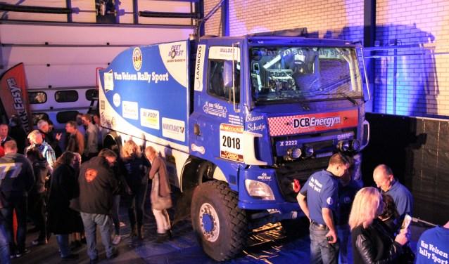 Team en voertuigen werden gepresenteerd (foto: Astrid v.d. Heide).