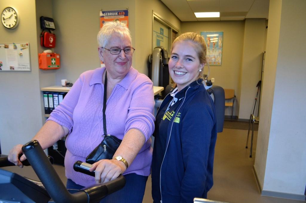 """""""Voor ouderen is het heel belangrijk om zo fit mogelijk te blijven. Preventief trainen voorkomt klachten"""" (foto: pr).  © Het Krantje"""