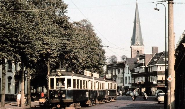 Halte Voorburg Dorp in 1961 (foto: L.J.P. Albers).
