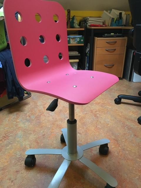 Bureaustoel Kind Roze.Bureaustoel Marktplein