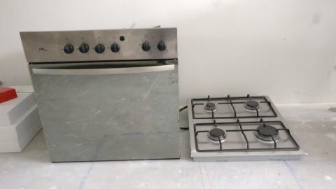 Goede Inbouw Gasfornuis met Oven- marktplein IQ-81