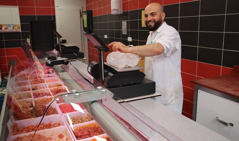 Bilal Ozdemir is het gezicht van Slagerij Baran.