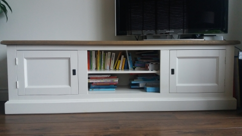 Gesloten Tv Kast : Tv dressoir meubel ral 9010 marktplein