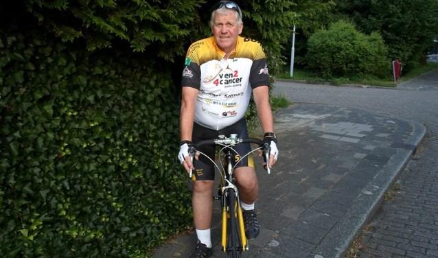 Cock van Rijn is inmiddels in training, want hij wil niet als laatste binnen komen aan de finish (foto: Facebook).