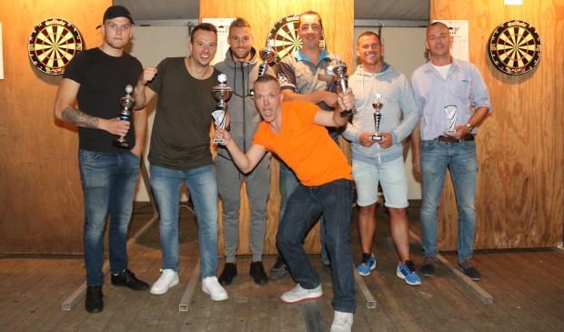 Kevin de Roode, Menno Nieuwenbroek, Donny van Oijen, Tom Smink, Jack Greebe, Ferry Pronk, Gert van Rooijen. Foto: Sander de Hollander