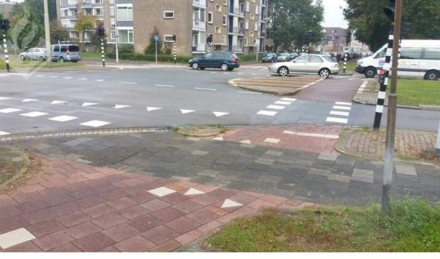De plaats des onheils (foto: politie LDVB).