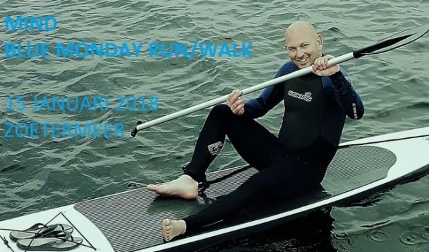 Jan Paul van der Tang uit Zoetermeer roept inwoners op het initiatief te sponsoren en vooral gezellig mee lopen. Foto: pr