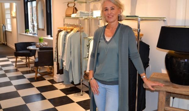 """""""Maar het was wel altijd mijn droom om een eigen winkel te hebben. Dit was natuurlijk een unieke kans"""" (foto: Inge Koot)."""