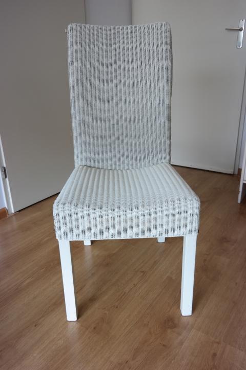 Stoelen loom wit en bruin marktplein for Loom stoelen