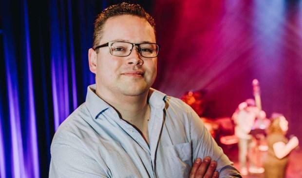 Oscar van Schijndel, directeur van het Veurtheater. (Foto: Louise Boonstoppel)