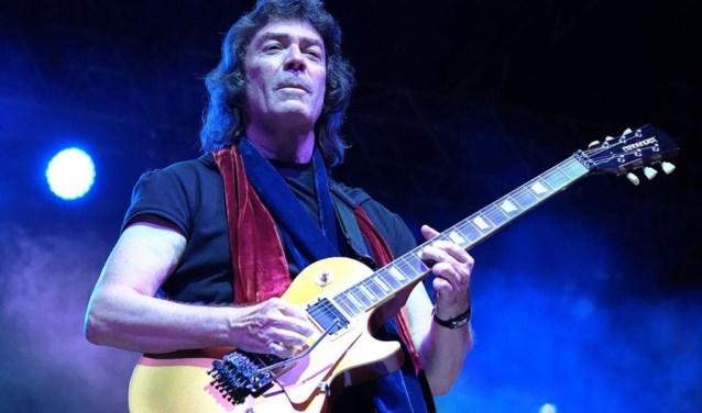 in mei 2019 staat gitarist Steve Hackett twee avonden op het podium van Cultuurpodium Boerderij. Foto: pr