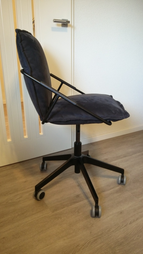 Ikea Bureaustoel Villstad Antraciet Grijs Zwart Marktplein
