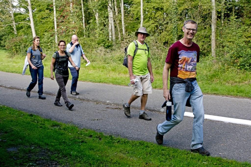 Wandelen op de Geuzendag wordt steeds populairder. Foto: stiefpaparazzi  © Postiljon