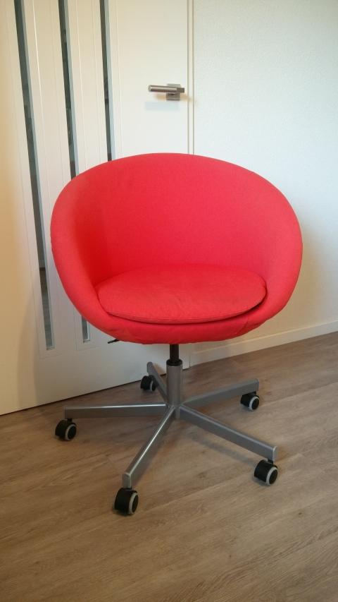Ikea Bureaustoel Skruvsta Oranje Rood Marktplein
