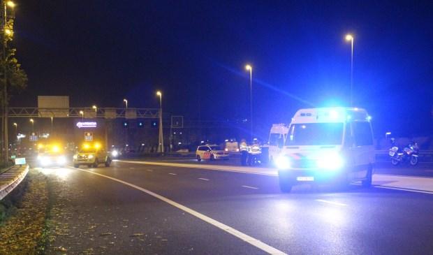 Wonder boven wonder vielen er geen slachtoffers bij het ongeval. Foto's: Spa-Media / Roy Wolters