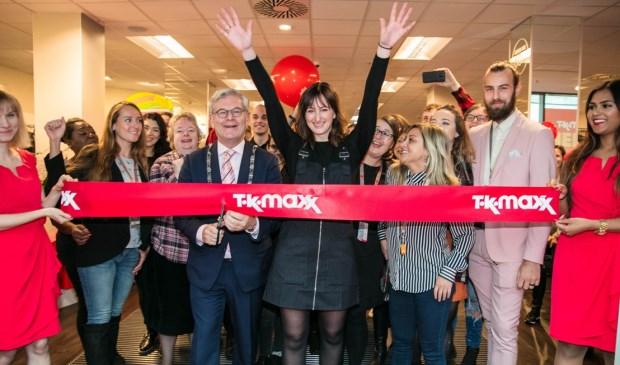 De tiende vestiging van TK Maxx  in Nederland betekent de opening van een walhalla voor schatzoekers en liefhebbers van merken. Foto: pr