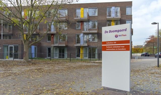 De locatie WelThuis De Boomgaerd biedt zorg en begeleiding aan ouderen met een vorm van dementie. Foto: Maartje Brand / brandbeeld