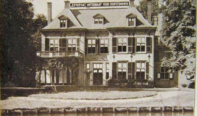 Effatha vestigde zich in 1926 op het Voorburgse terrein van de landgoederen Hoekenburg en Arentsburgh (foto: pr).