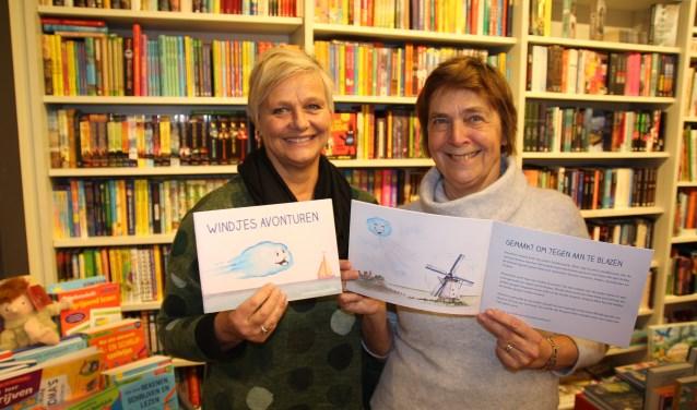 Letty en Erna (links) hebben er samen een prachtig boekje van gemaakt.