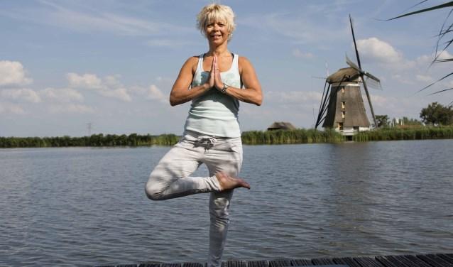 Ellen Koot van Body and Mind Coach is yogadocente en vitaliteitscoach. Foto: stiefpaparazzi