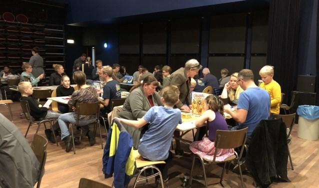 Rond de 150 bezoekers, van jong tot oud, bezochten de derde editie van Spellendag in CKC. Foto: pr
