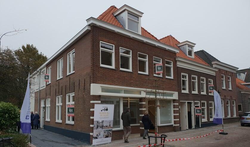 Er was zaterdag grote belangstelling voor de open dag in de twee panden aan de Venestraat waarin vier luxe appartementen zijn gerealiseerd (foto: pr).