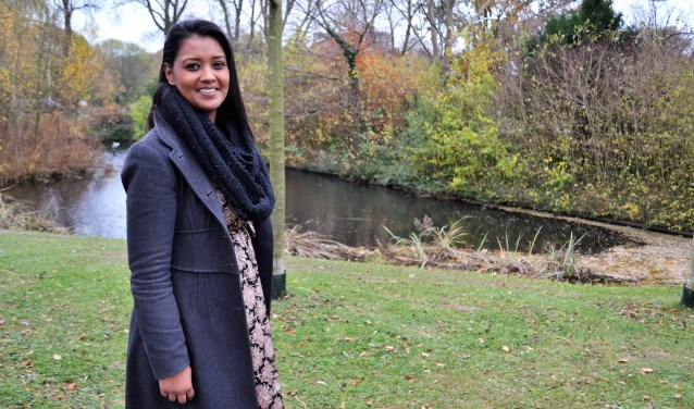 Sangita Paltansing vindt het belangrijk dat iedereen gelijke kansen krijgt (foto/tekst: Inge Koot).