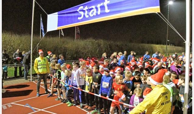 Start van de Light in the Night Kidsloop (foto: Bas van Binnendijk).